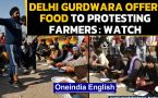Delhi Sikh Gurudwara Management Committee offers food to protesting farmers: Watch