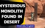 Mystery metal monolith found in Utah desert | Who put it there?