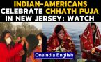 Chhath Puja: Indian-American community in New Jersey performs rituals in US