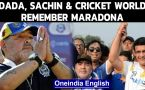 Sachin, Dada remember Maradona | IPL team tweets: Hand of God again