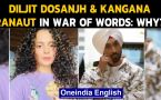 Kangana Ranaut and Diljit Dosanjh engage in an ugly spat on twitter: What did they say