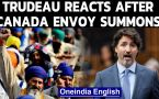 Trudeau reacts after India summons Canada envoy over 'farmer' remarks