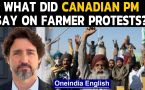 Canadian PM Justin Trudeau backs onging farmer protest in India, Watch the video