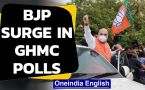 BJP surge in GHMC polls, TRS is still largest party
