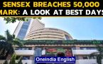 Sensex touches 50,000 mark for the first time ever: A look at the past
