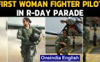First woman fighter pilot to take part in R-Day Parade