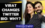 Virat Kohli changes twitter bio, winning netizens' hearts with his sweet gesture