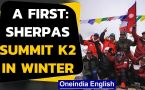 Sherpas summit K2 in winters, enter history books!