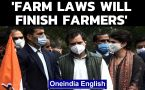 Farm laws will finish farmers: Rahul Gandhi at Congress protest