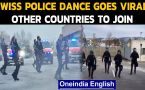 Swiss Police dancing video goes viral on social media : WATCH