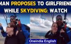 Skydiving proposal is winning hearts on the internet, video goes viral