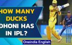 Chennai Super Kings captain MS Dhoni has this many ducks in IP