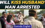 Delhi: Maskless couple misbehaves with police personnel, video goes viral