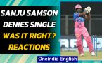 Sanju Samson was right in denying single & remaining on strike for the last ball?