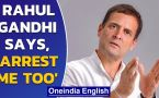 Rahul Gandhi slams Govt for arresting people over posters critical of PM Modi