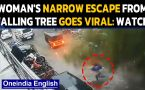 Mumbai: Woman's miraculous escape from a giant tree during cyclone Tauktae