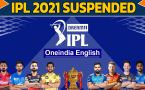 IPL gets suspended after SRH player tests Covid positive