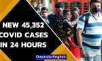 Covid Update: India records new 45,352 cases in last 24 hours
