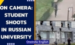 Russia: 8 dead after student shoots at Perm State University | Watch the shooter