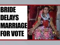 UP Elections 2017: Lucknow bride delays marriage rituals to cast vote : Watch video