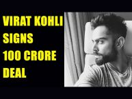 Virat Kohli signs 100 crore deal with Puma, joins Bolt and Powell