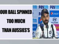Virat Kohli feels Indian spinner turned ball too much, Watch video