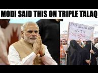 PMsaid don't see triple talaq from political prism