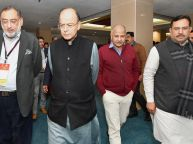 Budget 2018 : Arun Jaitley chaired pre-budget meeting with finance ministers of all states and UTs