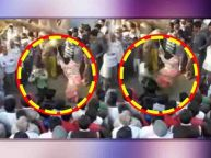 Viral Video: Man beats wife in public following panchayat's diktat