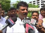 DK Shivkumar says Our MLAs gets threat using Government agencies