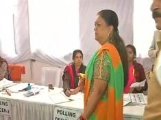 Rajasthan Election 2018: Vasundhara Raje casts her vote, Watch Video