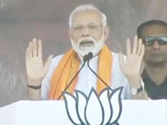 PM Modi attacks on Congress's emotional drama over development in Karnataka