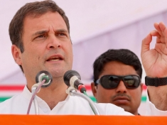When Rahul Gandhi's this promise people chants slogans
