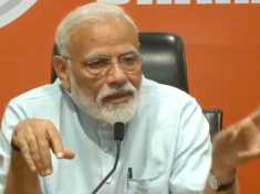 Elections 2019: PM Modi addresses first ever press conference