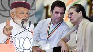 PM Narendra Modi attacks Oppostion during his speech in Himachal Pradesh