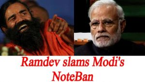PM Modi's NoteBan move slammed by Baba Ramdev