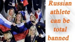 Russia to be banned from International competition over doping