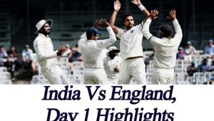 India vs England, 5th Test Day 1 Highlights, England rides high thanks to Root
