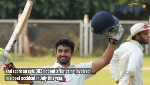 Karun Nair says, I am 'lucky to live again' after boat mishap in Kerala