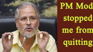 Najeeb Jung reveals, offered to quit twice but stopped by PM Modi