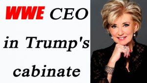 Donald Trump appoints former WWE CEO Linda McMahon in cabinet