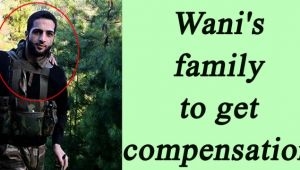 Burhan Wani's brother name on compensation list of J&K Government