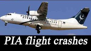 PIA plane 'PK-661' carrying 47 passengers crashes on way to Islamabad