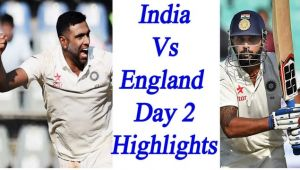 India vs England 4th Test Match, 2nd day Highlights