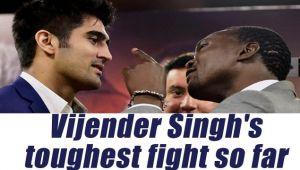 Vijender Singh to face Francis Cheka, to be Singh's hardest fight till date