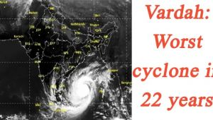 Cyclone Vardah: High Alert in Tamil Nadu, worst ever storm warning issued