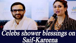 Saif Ali Khan- Kareena Kapoor become parents, Celebs shower blessings on Twitter