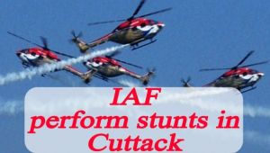 Cuttack Air Show : IAF perform breathtaking stunts, Watch Video