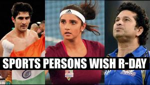 Republic Day 2017: From Sachin to Sania, sports personalities wish fans