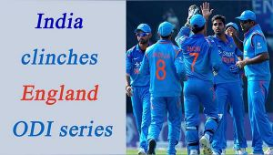 India beats England by 15 runs in Cuttack, leads ODI series by 20